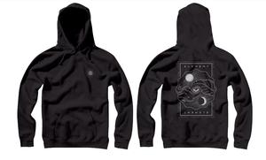 ELEMENT FORCES HOODIE SWEATHSIRT BLACK