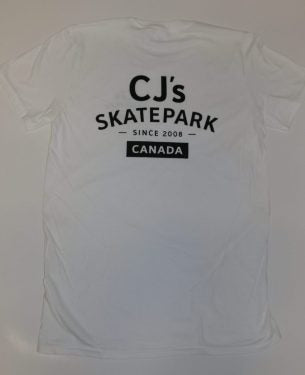 CJ's Logo Tee White