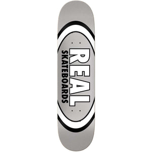 Real Grey Oval Pattern Team Series 7.75""