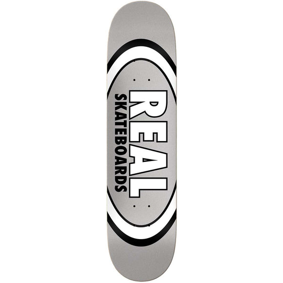 Real Grey Oval Pattern Team Series 7.75