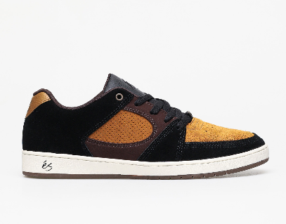 éS Accel Slim Shoes Black/Brown