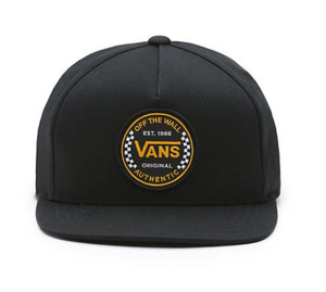 Vans Authentic Checker Youth Hat Black