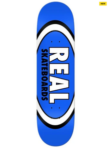 Real Oval Patterns Team Series Blue 8.50""
