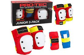 Protec Street Gear Youth 3 Pack Retro Colorway