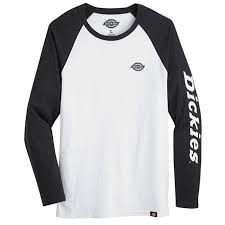 Dickies Men's Graphic Baseball Long Sleeve TEE