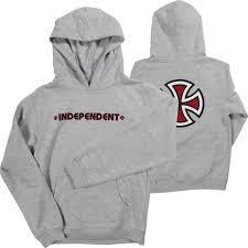 Independent Bar Cross Youth Hoodie