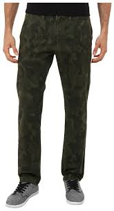 Vans Authentic Chino Dark Camo Sturdy Stretch Pants