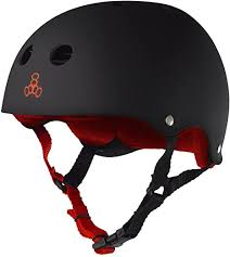 Triple Eight Sweatersaver Helmet Black/Red