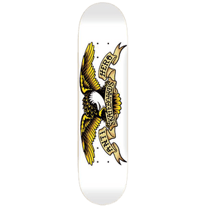 AntiHero Classic Eagle White Deck 8.75""