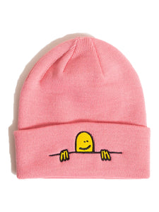 Thrasher Gonz Sad Logo Beanie Light Pink