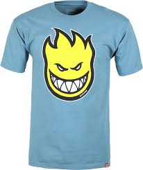 Spitfire Bighead Tee Light Blue