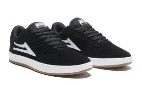 Lakai Manchester XLK Shoes Black/White