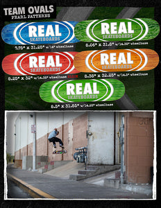 Real Oval Patterns Team Series Deck
