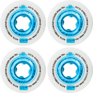 Ricta Chrome Clouds Blue 78a 54mm