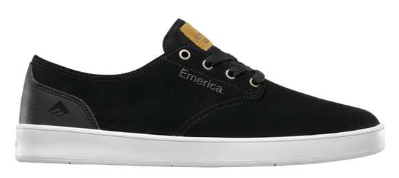Emerica Romero Laced Shoes Black/Black/White
