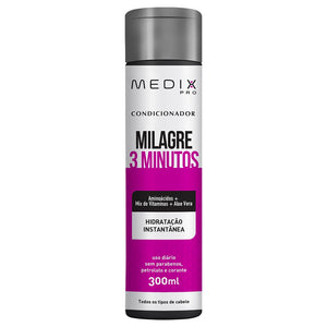 Condicionador Milagre 3 Minutos Medix - Shop Shop Beauty