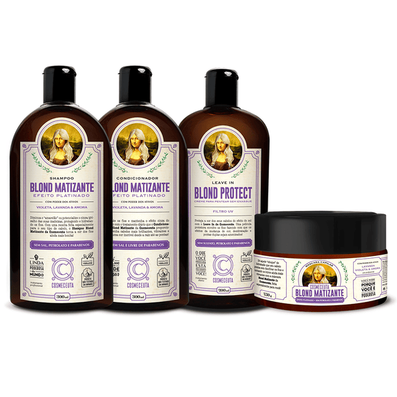 Kit Blond Matizante Cosmeceuta - Shop Shop Beauty