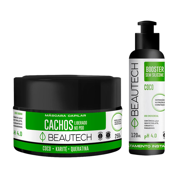 Kit Super Cachos Coco Beautech
