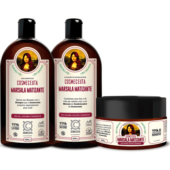KIT MARSALA MATIZANTE - Shop Shop Beauty