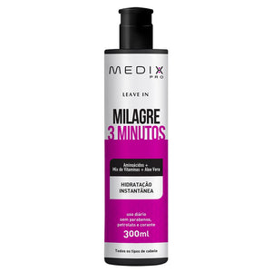 Leave In Milagre 3 Minutos Medix - Shop Shop Beauty