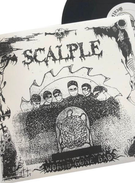 "Scalple - World Gone Bad 12"" LP"