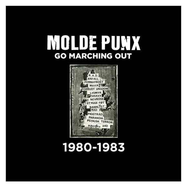 MOLDE PUNX GO MARCHING OUT, Double LP Comp.