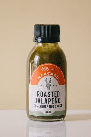 Roasted Jalapeno & Coriander Hot Sauce