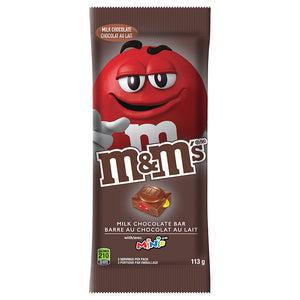 M&M's Milk Chocolate Bar