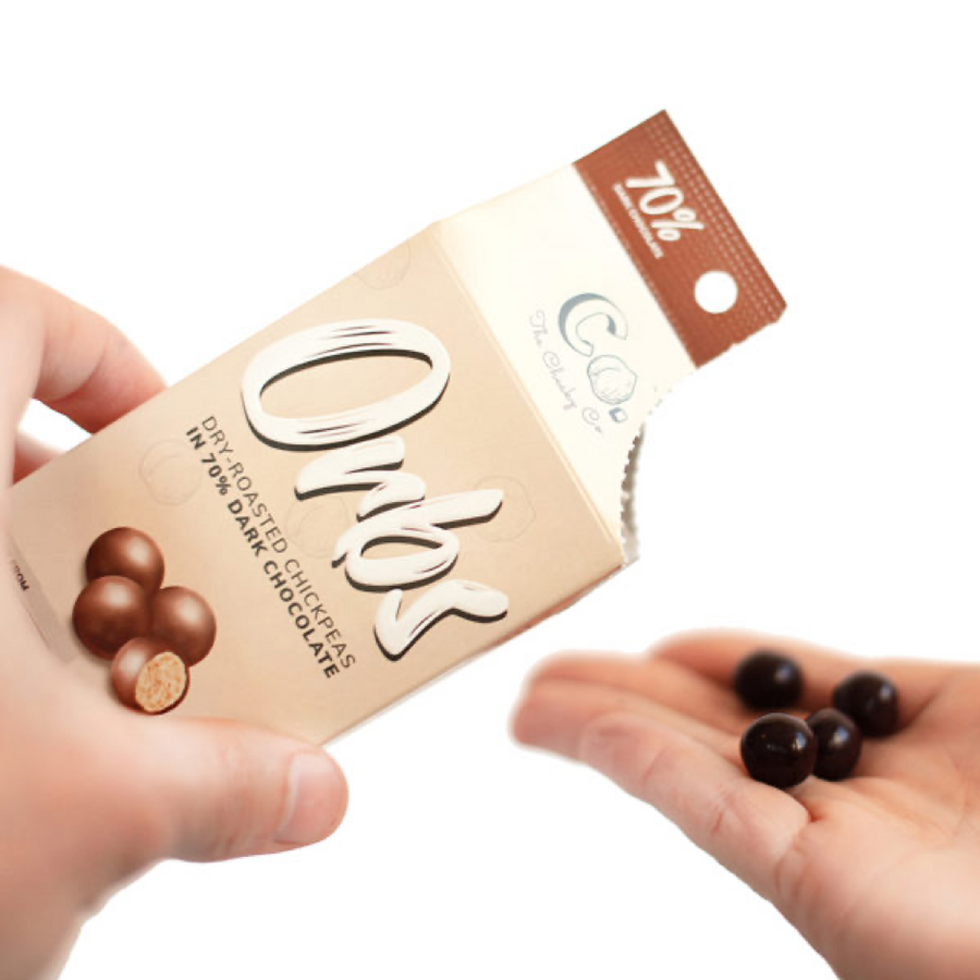 Orbs Dry Roasted Chickpeas Dark Chocolate - Mac Banana Online