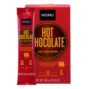 Nomu Hot Chocolate Sachets 10s - Mac Banana Online