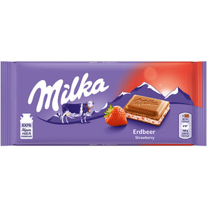 Milka Strawberry