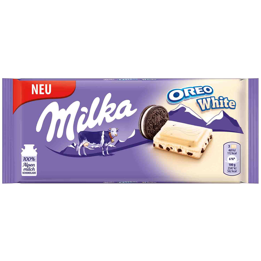 Milka Oreo White Chocolate