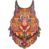 Pre-order  Wooden Puzzle Gentle Lynx