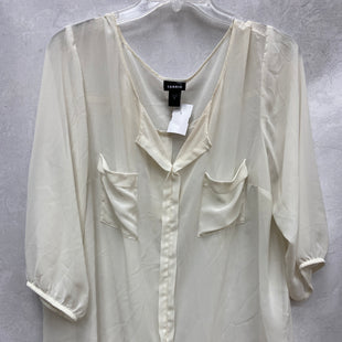 Primary Photo - BRAND: TORRID STYLE: TOP LONG SLEEVE COLOR: CREAM SIZE: 2X SKU: 193-193138-7799