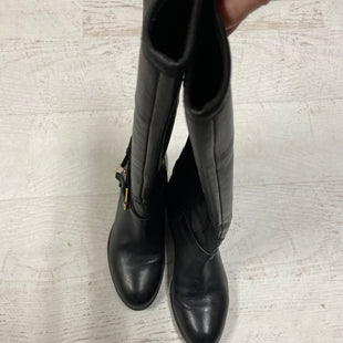 Primary Photo - BRAND: RALPH LAUREN STYLE: BOOTS KNEE COLOR: BLACK SIZE: 6 SKU: 193-19357-40312