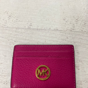 Primary Photo - BRAND: MICHAEL KORS STYLE: COIN PURSE COLOR: HOT PINK SIZE: SMALL SKU: 193-193135-9960