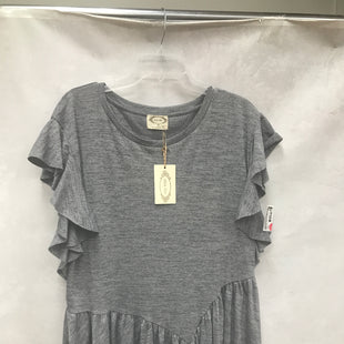 Primary Photo - BRAND:    CLOTHES MENTOR STYLE: TUNIC SHORT SLEEVE COLOR: GREY SIZE: XL OTHER INFO: JOYFOLIE - NEW! SKU: 193-193135-10885