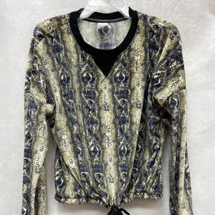 Primary Photo - BRAND: NO BOUNDARIES STYLE: TOP LONG SLEEVE COLOR: SNAKESKIN PRINT SIZE: 2X SKU: 193-193113-7867