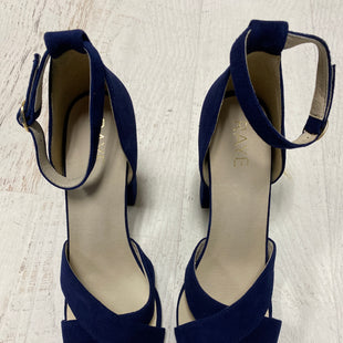 Primary Photo - BRAND:    CLOTHES MENTOR STYLE: SANDALS LOW COLOR: NAVY SIZE: 9.5 OTHER INFO: RAYE - SKU: 193-193138-4324