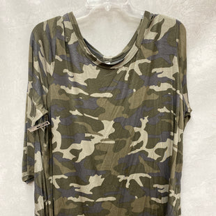 Primary Photo - BRAND: ZENANA OUTFITTERS STYLE: TOP LONG SLEEVE COLOR: CAMOFLAUGE SIZE: 3X SKU: 193-193138-8102