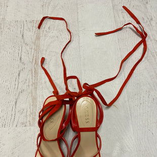 Primary Photo - BRAND: GUESS STYLE: SANDALS LOW COLOR: RED SIZE: 9.5 SKU: 193-193138-4326