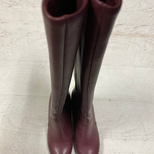 Primary Photo - BRAND: NINE WEST STYLE: BOOTS KNEE COLOR: MAROON SIZE: 8 SKU: 193-193106-17111