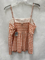 Photo #1 - BRAND: WILD FABLE <BR>STYLE: TOP SLEEVELESS <BR>COLOR: PLAID <BR>SIZE: L <BR>SKU: 193-19357-58776