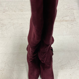 Primary Photo - BRAND: JG COLLECTIONS STYLE: BOOTS KNEE COLOR: MAROON SIZE: 8 SKU: 193-193135-8736