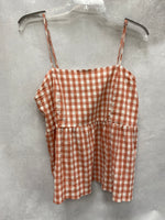 Primary Photo - BRAND: WILD FABLE <BR>STYLE: TOP SLEEVELESS <BR>COLOR: PLAID <BR>SIZE: L <BR>SKU: 193-19357-58776