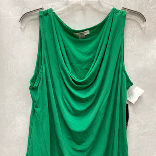Primary Photo - BRAND: LIZ CLAIBORNE STYLE: TOP SLEEVELESS COLOR: GREEN SIZE: XL SKU: 193-193138-7824