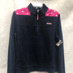 Primary Photo - BRAND: VINEYARD VINES STYLE: SWEATER LIGHTWEIGHT COLOR: NAVY SIZE: L SKU: 193-193117-8686