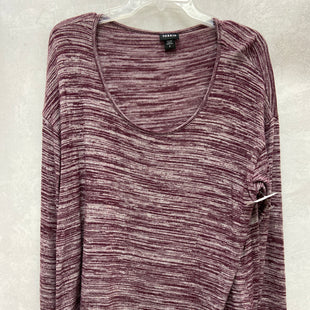 Primary Photo - BRAND: TORRID STYLE: TOP LONG SLEEVE COLOR: MAROON SIZE: 1X SKU: 193-193138-7775