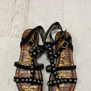 Primary Photo - BRAND: SAM EDELMAN STYLE: SANDALS FLAT COLOR: BLACK SIZE: 8 SKU: 193-19357-53042