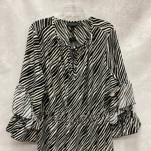 Primary Photo - BRAND: LANE BRYANT STYLE: DRESS SHORT LONG SLEEVE COLOR: BLACK WHITE SIZE: 2X SKU: 193-193138-8015